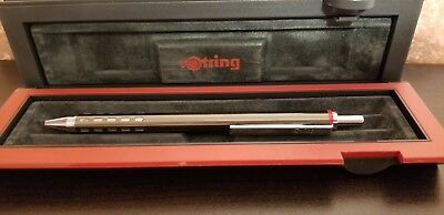 Rotring Jazz Capless Rollerball in Graphite Beautiful Vintage & Hard to find Pen