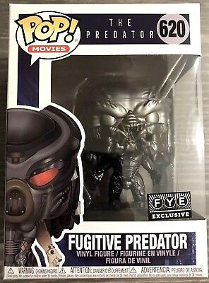 PREORDER: Funko Pop Movies 620 - CHROME BLACK FUGITIVE PREDATOR - FYE Exclusive