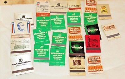 Lot of Vintage of Matches