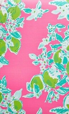 NWT Pottery Barn & Lilly Pulitzer PINK LEMONADE Crib Fitted Sheet Toddler Baby