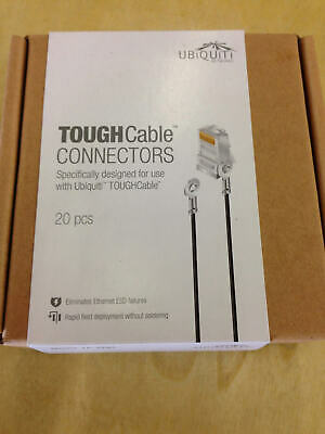 Ubiquiti Networks 20 Pack of Tough Cable Connector Ground TC-GND TC-GND