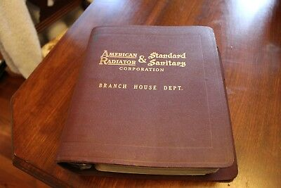American Standard 1950 Branch House Department Price Catalog