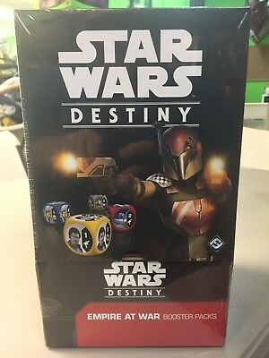 Star Wars Destiny Empire at War Sealed Booster Box (36 packs)