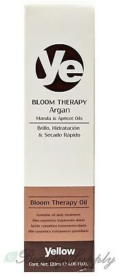 Alfaparf Yellow Bloom Therapy Argan Bloom Therapy Oil 4.06 oz BNIB