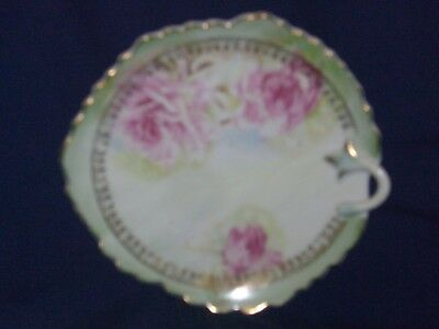 "LEFTON CHINA Antique Handpainted 5724 Small 6.5"" Snack Plate - EUC"