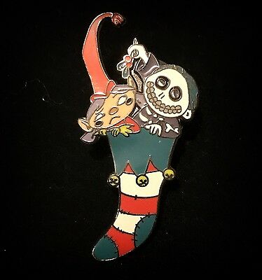 LE Barrel Stocking 13 Day Nightmare Before Christmas Jack Skellington Disney Pin