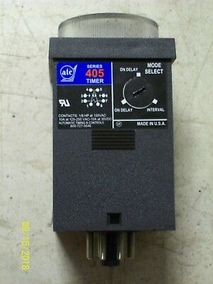 ATC 405 AUTOMATIC TIMER & CONTROLS TIMER with RELAY , 405C-500-F-2-X