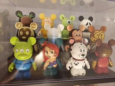 Disney The Park 2 Vinylmation Complete Set Of 12 Including Chaser New