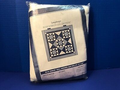 "Blue Ribbon Collection 28675 Longaberger Wall Hanging Quilting Kit 32"" X 32"""