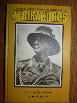 Uniforms, Organization and History of the Afrikakorps, HC 1st Ed. 1973