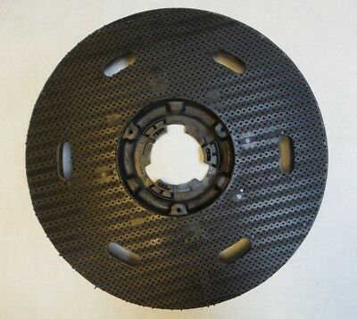 "Eureka 883155 Sanitaire 16"" Diameter Pad Driver For Floor Machine 61988 - Black"