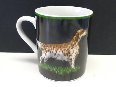 1992 Brittany Spaniel Tiffany Hunting Dogs Exclusively Tiffany & Co Mug Cup FLAW