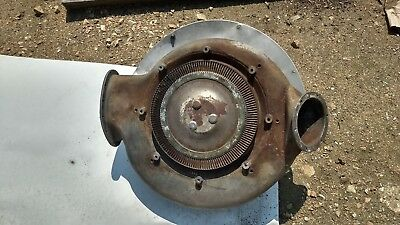 Vintage military aircraft supercharger part
