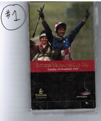2005 Melbourne Cup Official Race Book - Makybe Diva - 3Rd Win - Horse Racing #1