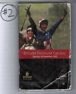 2005 Melbourne Cup Official Race Book - Makybe Diva - 3Rd Win - Horse Racing #2