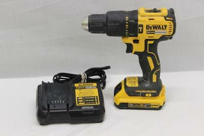 """DeWalt DCD778 Cordless Brushless 1/2"""" Hammer Drill Driver With Charger & Battery"""