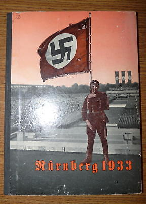RARE - Original Reichstagung (NSDAP Party Days) Photo Yearbook - Nurnberg 1933