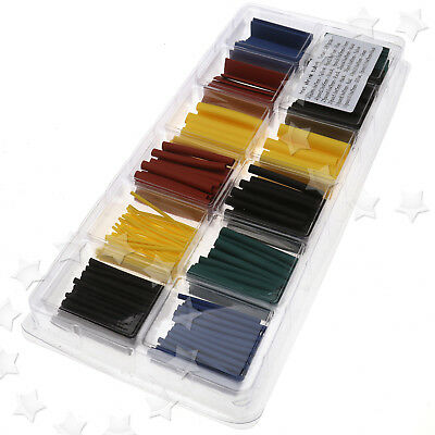 8 Size 280 x Assortment 2:1 Heat Shrink Tubing Tube Sleeving Wrap Wire Cable Kit