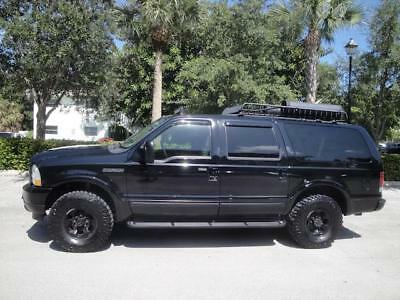 Excursion Limited 2003 Ford Excursion Lmtd 4x4 V10 Navi DVD Racks Halogen Awesome Look Runs Excell