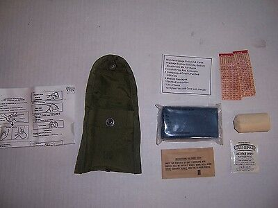 New complete Nylon First aid kit US military genuine GI surplus small