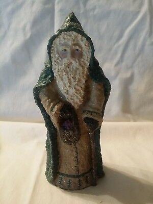 1999 Enesco,Belsnickle Santa signed by Linda Lindquist Baldwin #543640.