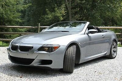 2007 BMW M6  2007 BMW M6 Convertible Rare true 6 Speed Manual with Clutch. Carbon Fiber Int.