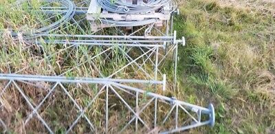 Valmont 140 ft guyed lattice Tower