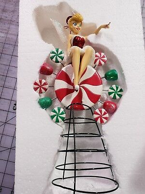 Very Rare DISNEY Santa Tink  CHRISTMAS TREE TOPPER