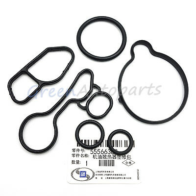 Oil Cooler Seals Kit Fits Chevrolet Cruze Sonic Trax Oil Filter