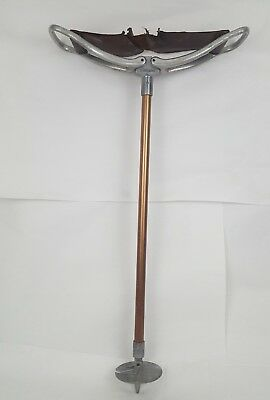 Vintage Featherwate Folding Cane Chair Seat Made in England. Golf Shooting Game