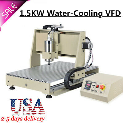 4 Axis 6040 CNC Router Engraver Drilling +3Axis CNC 2417 Router Engraver Carver