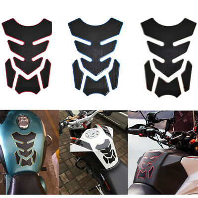 Universal 3D Motorcycle Oil Gas Fuel Tank Pad Protector Sticker Motorbike Decal