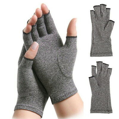 Arthritis Pain Relief Compression Gloves Joint Finger Hand Wrist Support Brace
