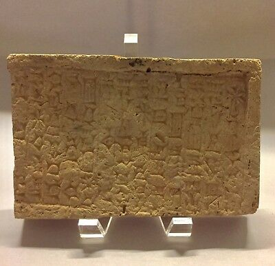 Ancient 'Clay Brick' Reign Of Nebuchadnezzar King Of The Neo-Babylonian Dynasty
