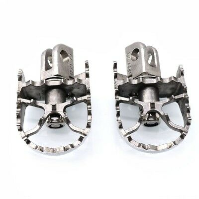 Rotating Wide Foot Pegs Footrest For Kawasaki Versys650 2007-2016 2013 2014 2015