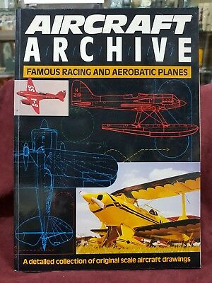 Aircraft Archive Famous Racing And Aerobatic Planes Book