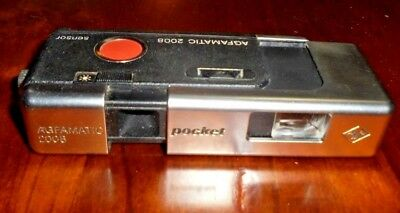 Old vintage collectable Agfamatic 2008 Pocket Camera ~ Made in Germany