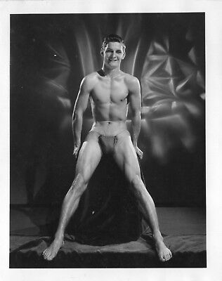 AMG  Vintage Single Weight  Male Nude  4 x 5 LA  Collection