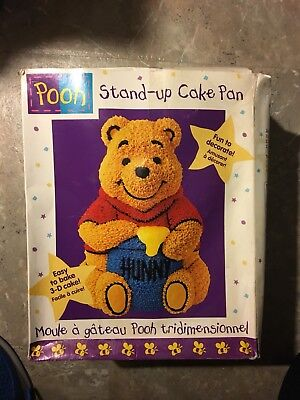 Wilton Winnie the Pooh Hunny Pot Stand Up 3-D Cake Pan (2105-3002) in box 1998