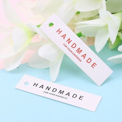 50PCS Message Card Wedding Party Gift Thank you Handmade Card Christmas Tag