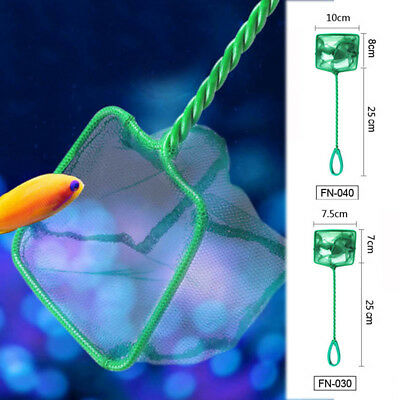 "Aquarium Fish Tank 3"" 4"" 5"" -12'' Fish Net Small Big Fishes Tropical Cold Water"