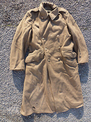 capote anglaise WWII.ORIGINAL1939/1945.DUNKERQUE.NORMANDIE.TOMMY 1940/1944.NOLAN