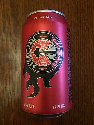 Pearl Jam Home Shows Collector Beer Can from Georgetown Brewing SOLD OUT