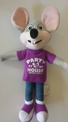 *NEW PARTY  Fun Chuck E Cheese Limited Edition Soft Plush Doll New For 2018 12""