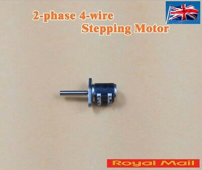 Micro 2 Phase 4 Wire Stepper Motor With Thread Rod 6mm body Canon Camera #M50