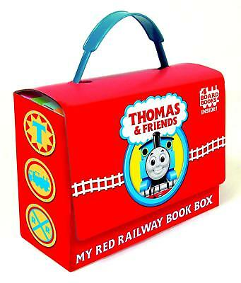 Thomas And Friends 4 Board Books My Red Railway Book Box Children's Reading