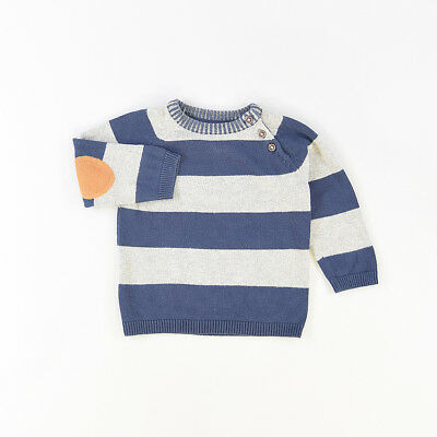 Jersey color Azul marca H&M 12 Meses