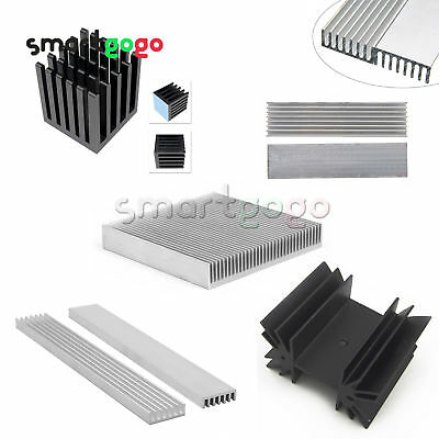 Heat sink IC Heatsink Aluminum Cooling Fin For CPU LED Transistor Power BSG