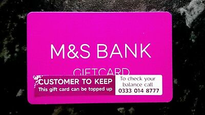 £135 M&S Marks and Spencers Gift Card Voucher Brand New £135