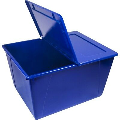 16 Gallon (60L) Storage Tote with Folding Lid